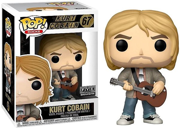 Kurt Cobain Funko Pop! - (MTV's Unplugged) (Special Edition)