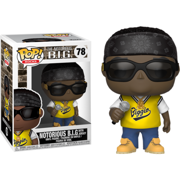 Notorious B.I.G. Funko Pop! - Notorious B.I.G. (with Jersey)